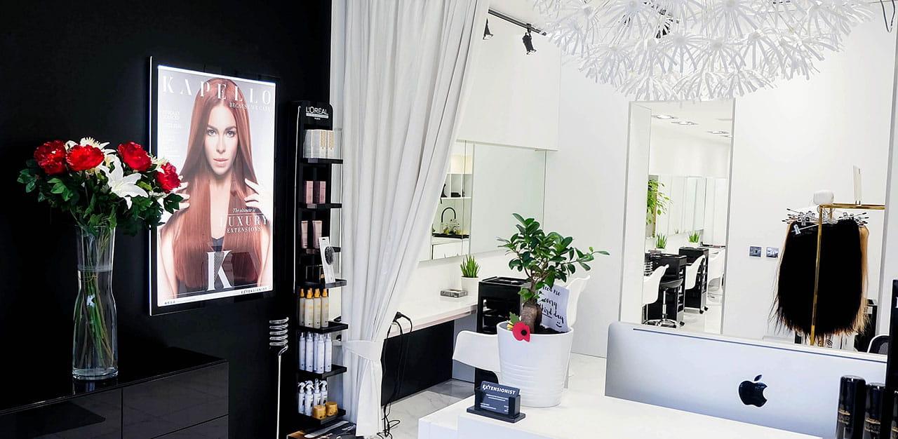 The Extensionist salon interior