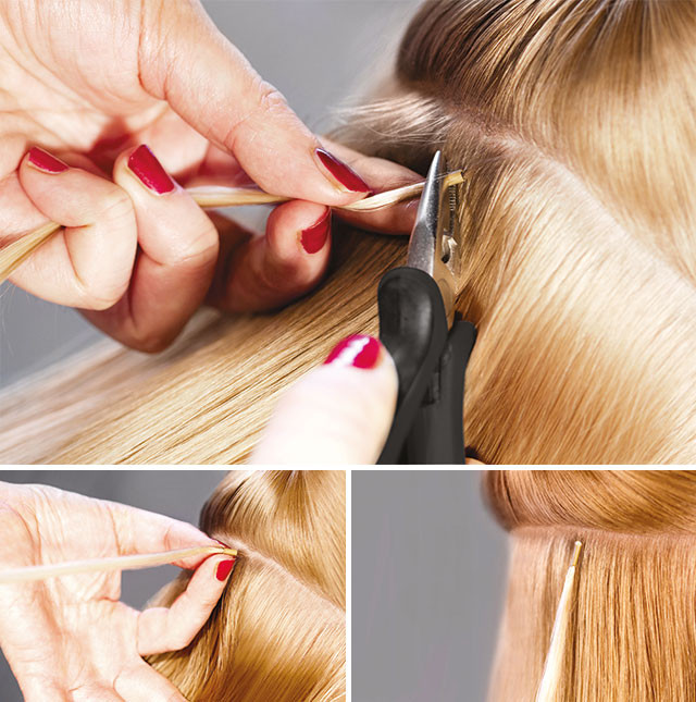 micro ring hair extensions course london