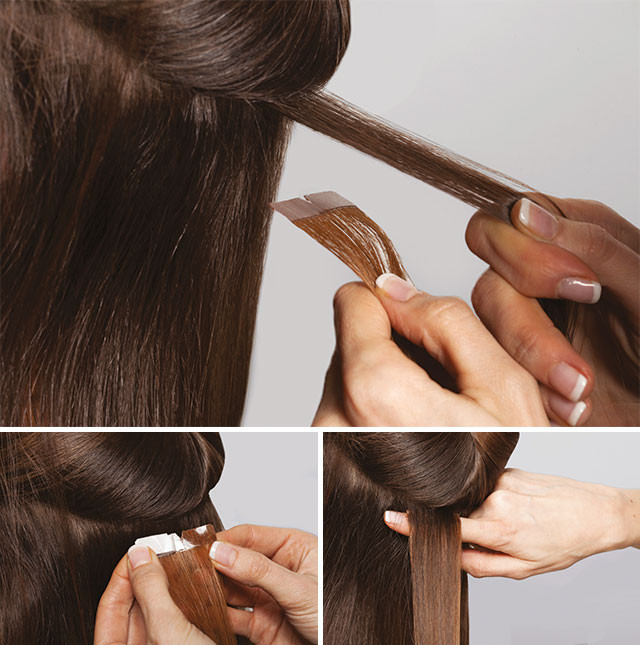 tape in hair extensions course london